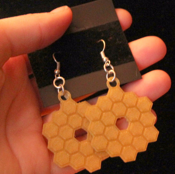 James Webb Space Telescope Earrings NASA Earrings JWST Earrings Science Jewelry Space Jewelry