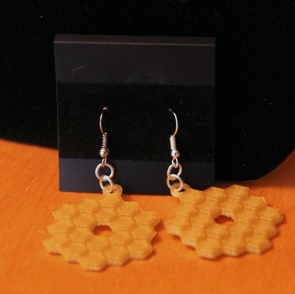 James Webb Space Telescope Earrings NASA Earrings JWST Earrings Science Jewelry Space Jewelry 3D Printed Jewelry
