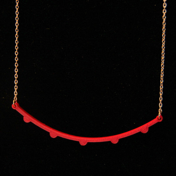Warm Front Line Necklace