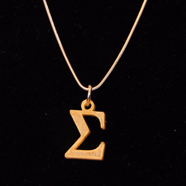 Summation Sigma Necklace
