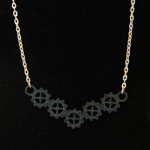 Geared Up Necklace