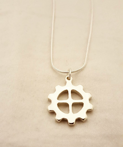 Spur Gear Necklace