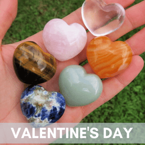 Valentine's Day Crystal Jewelry & Stones