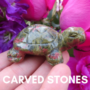 Carved Crystal Stone Figurines