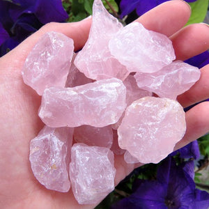 Small Raw Rose Quartz Crystal Chunk