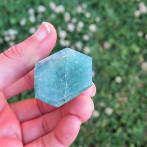 Large Amazonite Crystal Point Tower - 3""