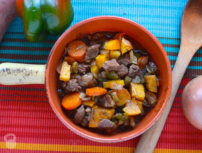 Featured Recipe 1/25/17: Slow Cooker Beef and Sweet Potato Stew