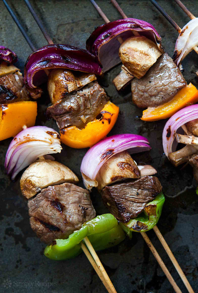 Featured Recipe 6/21/17: Simple Beef Kebabs