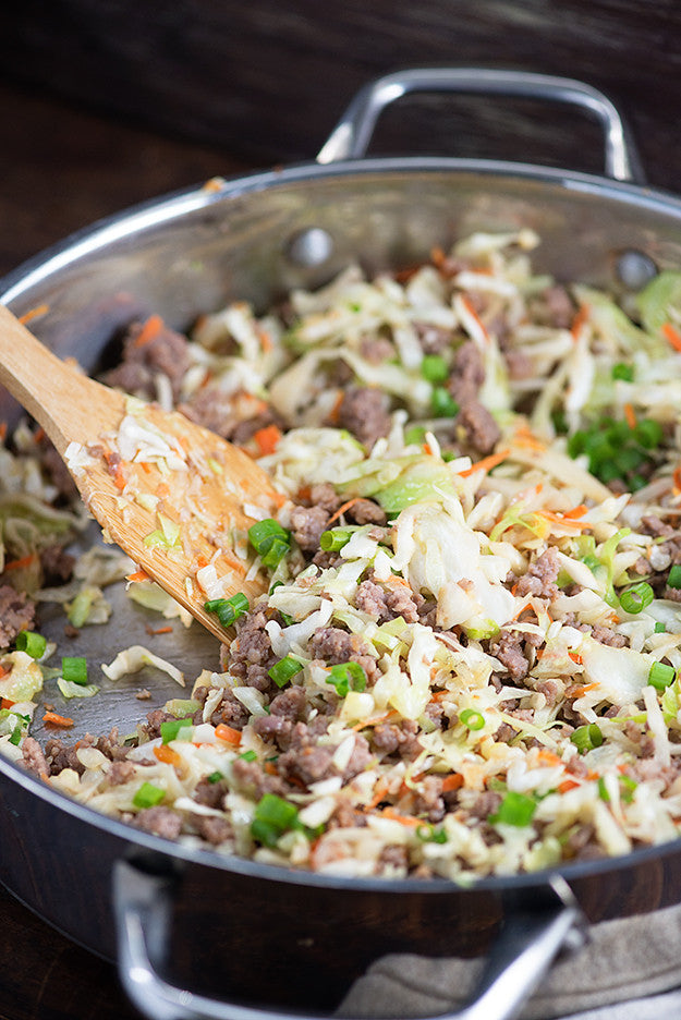 Featured Recipe 1/18/17: Egg Roll in a Bowl