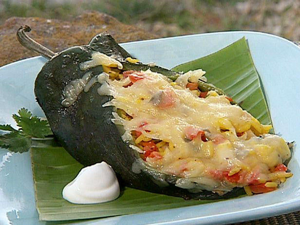 Featured Recipe 7/26/17 - Grilled Stuffed Poblanos