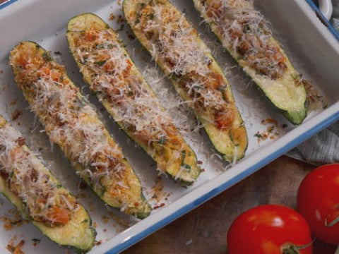 *Recipe Kit: Sausage-Stuffed Zucchini Boats