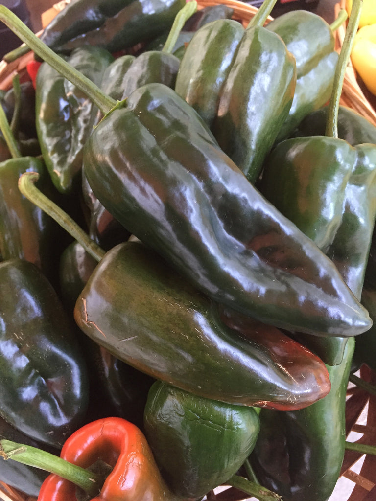 Vegetables: Peppers (Poblano)