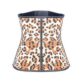 Back leopard waist trainer