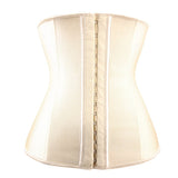 9 Steel Boned Nude Latex Waist Trainer