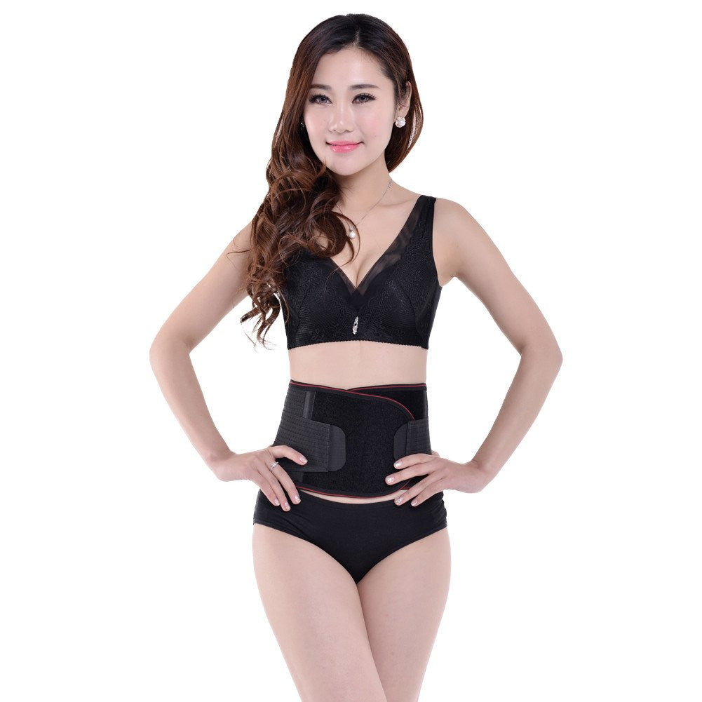 Black Slimming Body Shaper Control Girdle Corset New