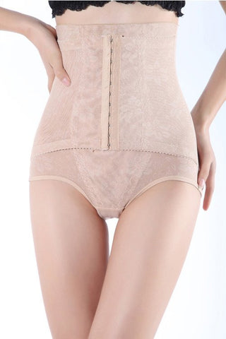 Nude Interlace Waist Shaper With Panty