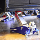 Floor Jack Safety Stops