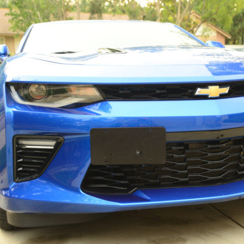 Camaro 16-21 License Plate Holder