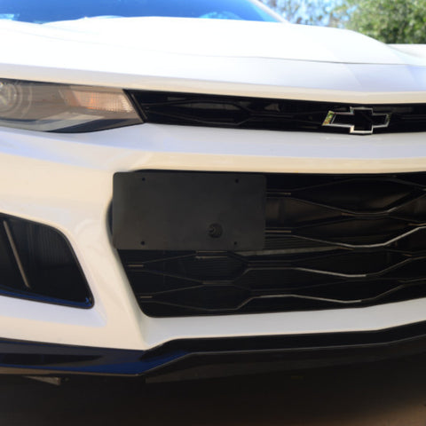 Camaro ZL1 17-20 License Plate Holder