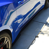 Camaro 6th gen side splitter extentions