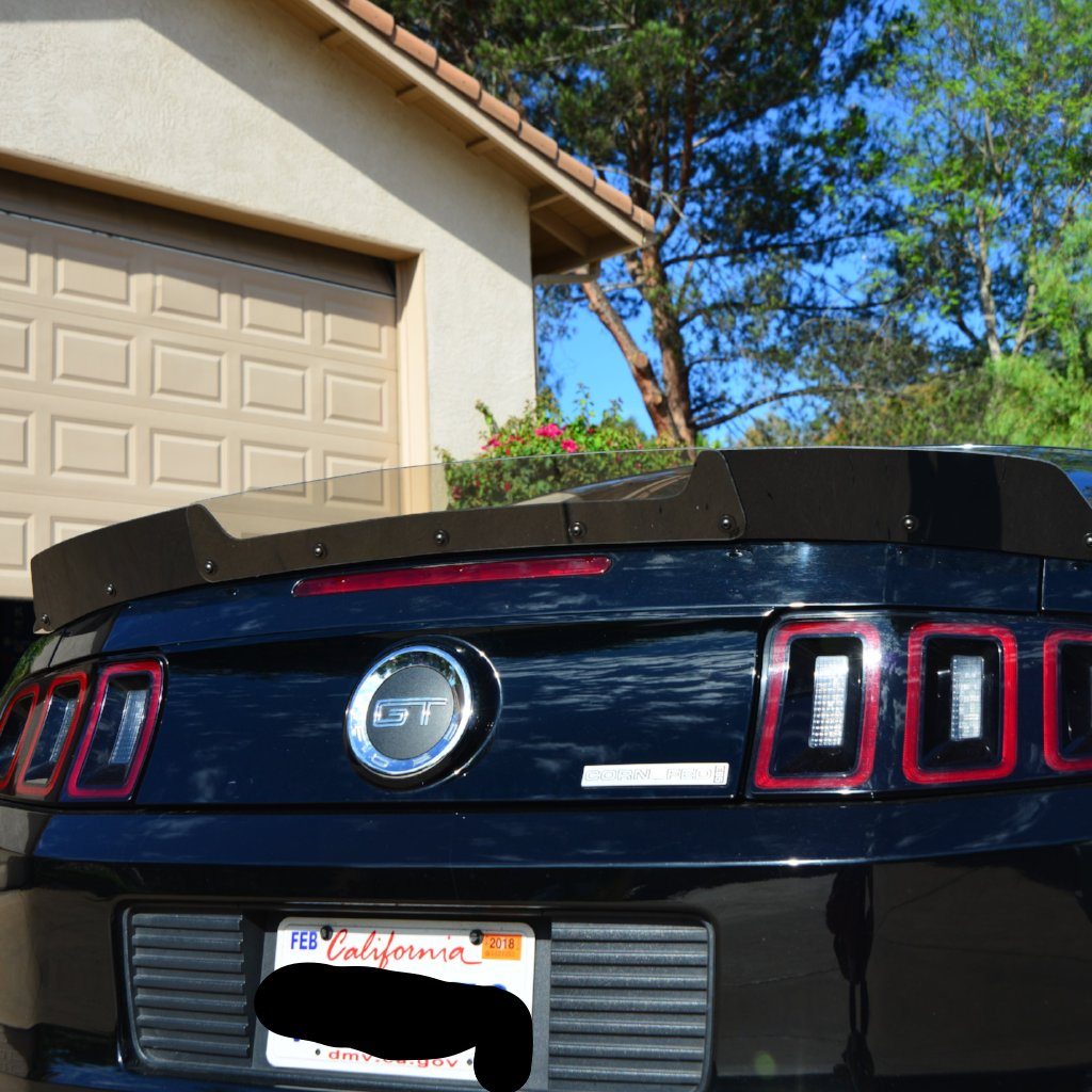 Mustang 10 14 Wicker Bill Zl1 Addons