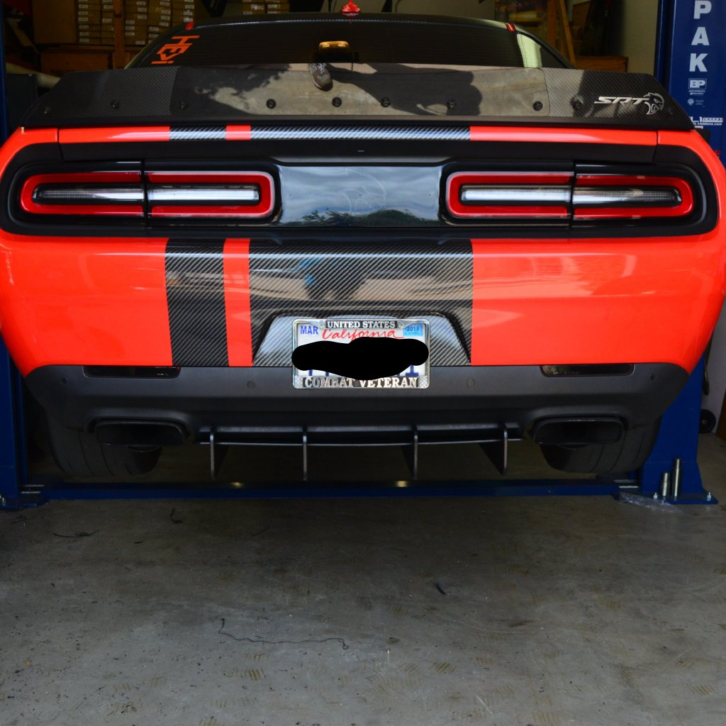 Challenger 15 19 Diffuser Zl1 Addons