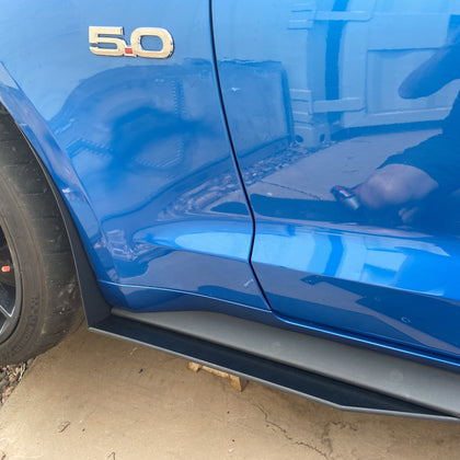Mustang 15-21 GT500 Style Side Skirt Extensions
