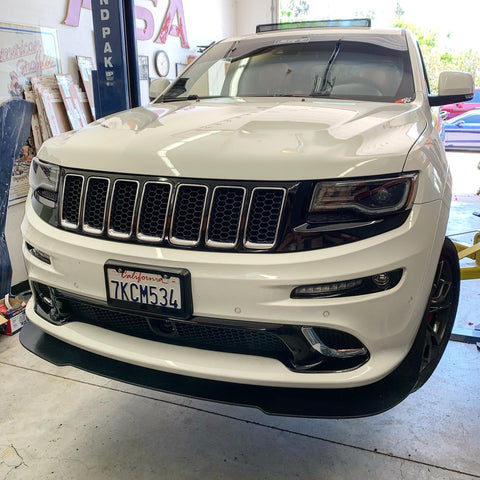 Jeep 11-16 Grand Cherokee SRT Splitter Extension