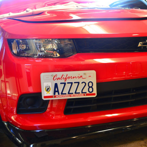Camaro 10-15 License Plate Holder