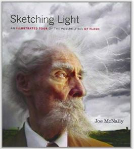 """Sketching Light""  Paperback Book by Joe McNally"