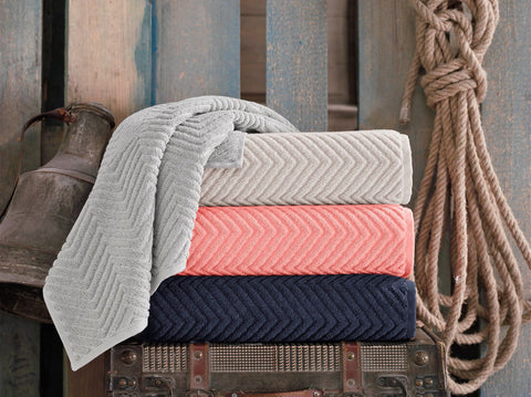 Venice Collection 2 Bath Towels Set