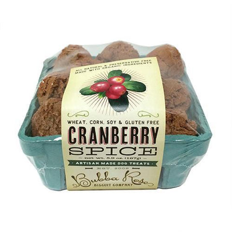 Cranberry Spice Fruit Crate Box