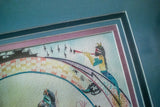 Authentic/Original Zuni Watercolor Painting