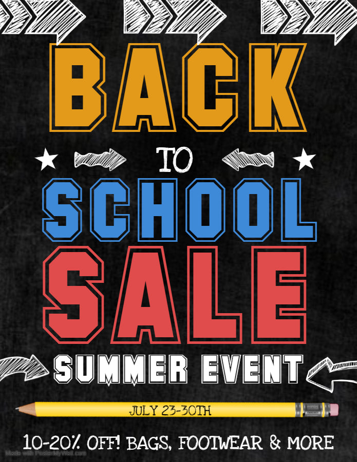 Back To School Sale at Harriman Army Navy 7/23-7/30