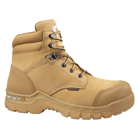 Carhartt 6 Inch Wheat Waterproof Breathable Work Boot