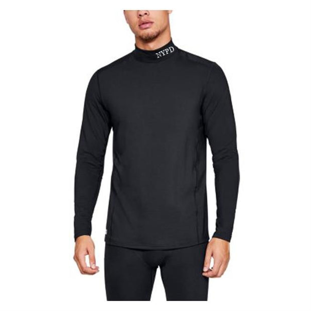NYPD  Under Armour Cold Gear Reactor Tactical Mock Neck | Black
