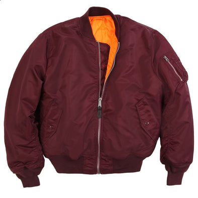 MA-1 Flight Jacket | Maroon