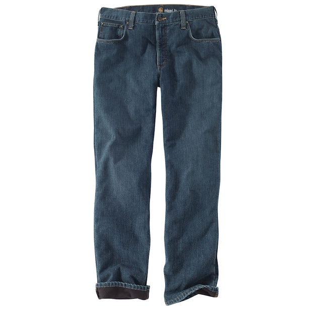 Carhartt Relaxed Fit Holter Jean Fleece Lined