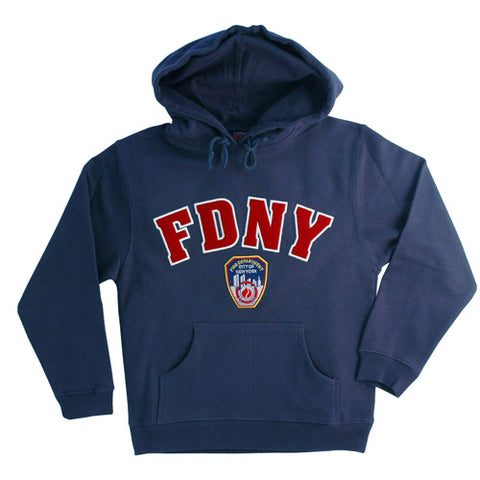Officially Lisenced FDNY Kids Pull Over Hoodie | Navy