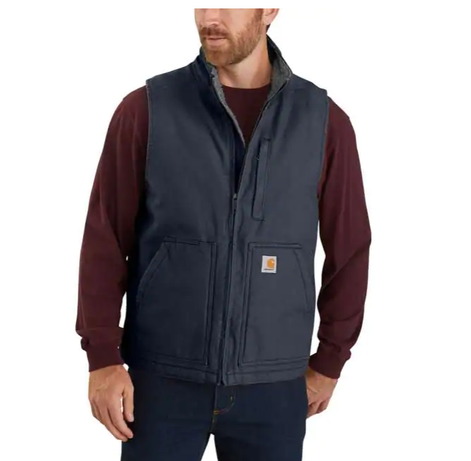 Carhartt Sherpa Lined Vest | Black, Navy or Brown