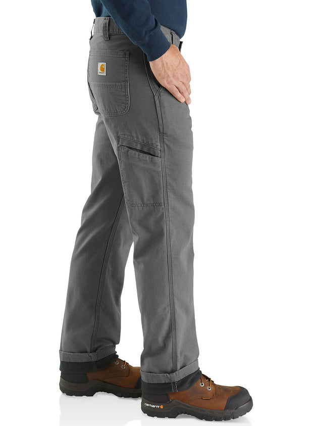 Carhartt Rugged Flex Rigby Lined Dungaree | Gravel