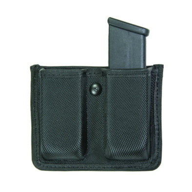 Double Mag Case Open | Large | Velcro Loop Molded Case | Ballistic Nylon | Black
