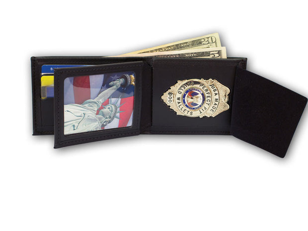 Bifold Wallet with Money Pocket - 6 CC Slots and Flipping ID 107