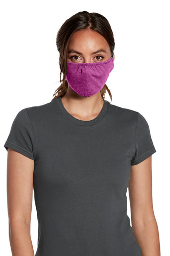 3 Ply Cotton Face Mask with Head Straps (Customization Available) | Multiple Colors