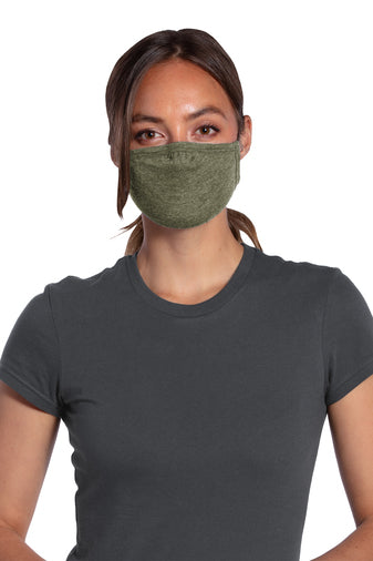 Super Soft Tri Blend Face Mask (customization Available)