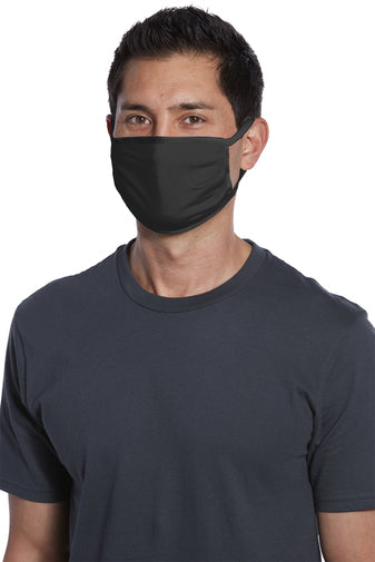 Solid 3 Ply Cotton Ear Loop Face Mask | Multiple Colors (Customization Available)