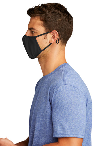Sports Face Mask with inside name place. (Black, Navy, Olive or Grey)