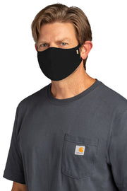 3 Pack Carhartt Face Mask | Black, Carhartt Brown, Lime