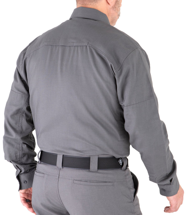 V2 Tactical Long Sleeve Shirt in Navy, Black , Grey & White