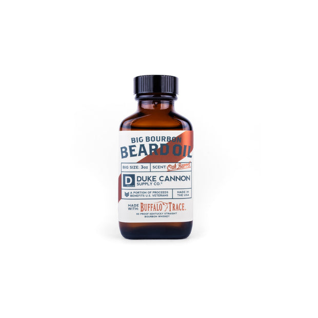 BIG BOURBON BEARD OIL